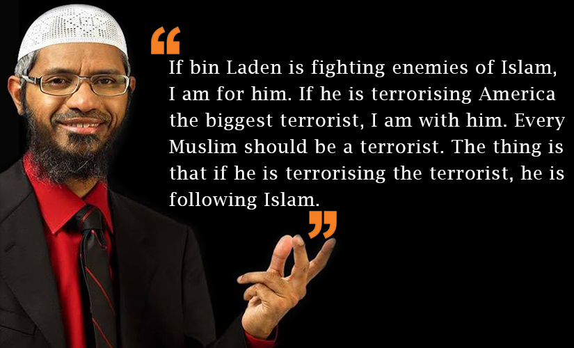 Image result for zakir naik quotes