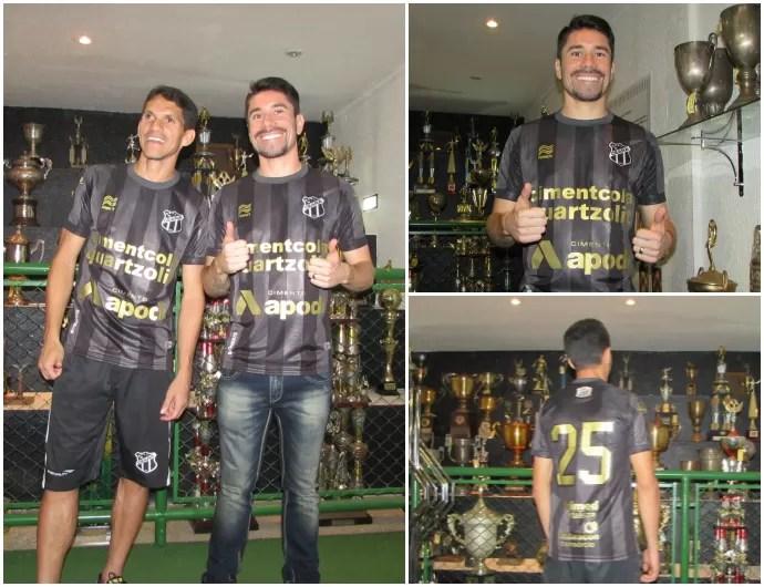 Camisa, nova, Ceará, lançamento (Foto: Juscelino Filho)