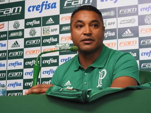 Resultado de imagem para Roger, técnico do Palmeiras