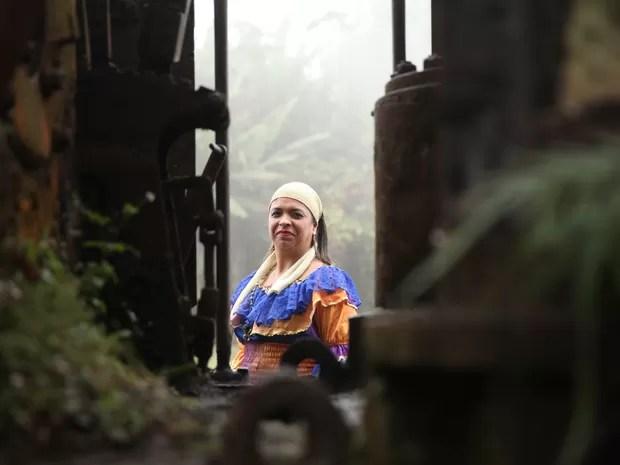 Convenção quer evidenciar o lado humano da bruxaria (Foto: Glauco Araújo/G1)