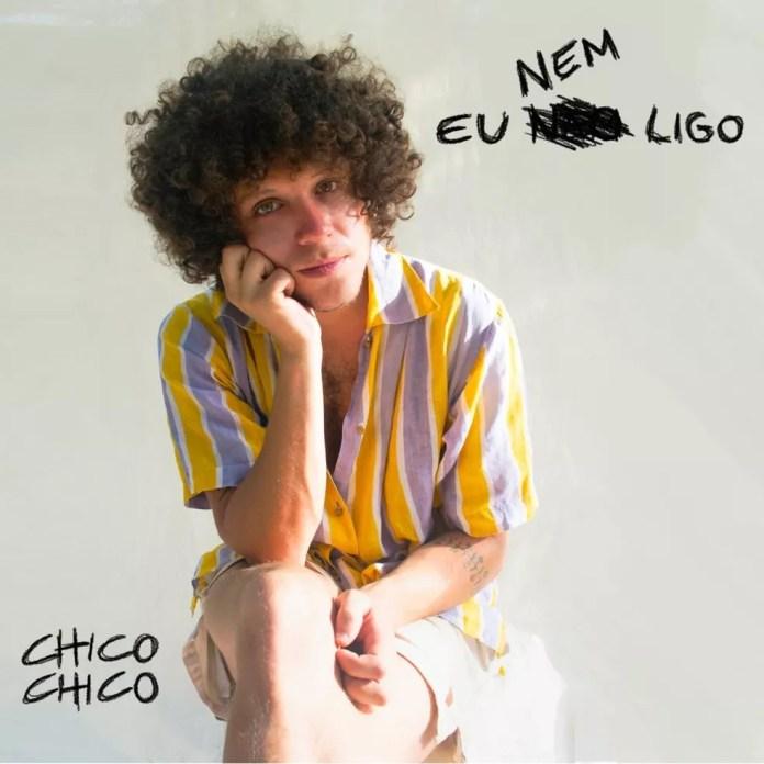 Capa do single 'Eu nem ligo', de Chico Chico — Foto: Renise Silva