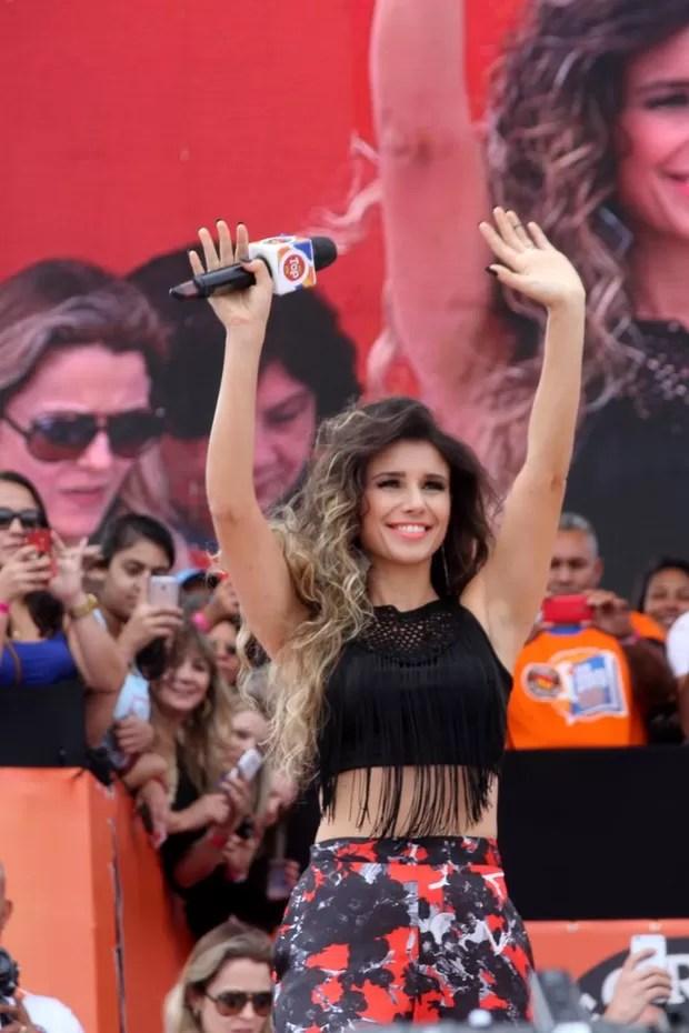Paula Fernandes (Foto: Paduardo / AgNews)