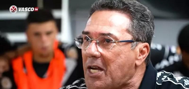 Luxemburgo exalta elenco do Vasco após vitória sobre o Botafogo — Foto: Reprodução
