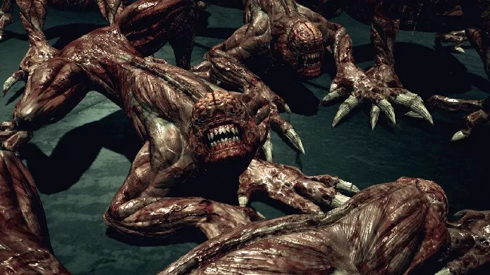 Licker de Resident Evil (Foto: Reprodução/Felipe Vinha)