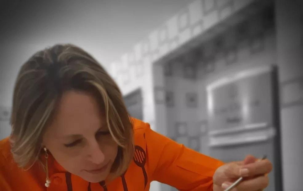 Daniela Goulart, proprietária do restaurante Total Cheff, que entrega marmitas na Octogonal, no DF — Foto: Arquivo pessoal