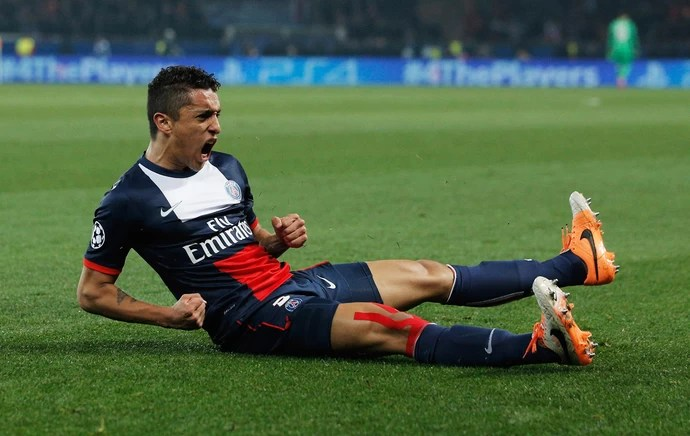 Marquinhos, PSG x Bayer Leverkusen (Foto: Getty Images)