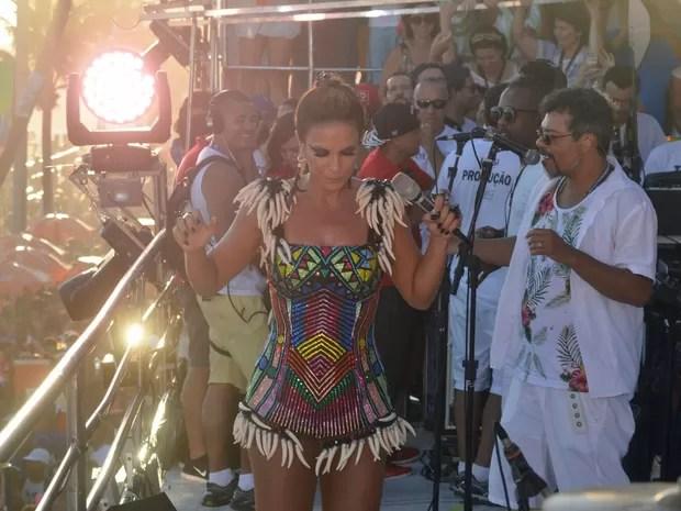 Ivete Sangalo na Barra (Foto: Diogo Macedo/Ag Haack)