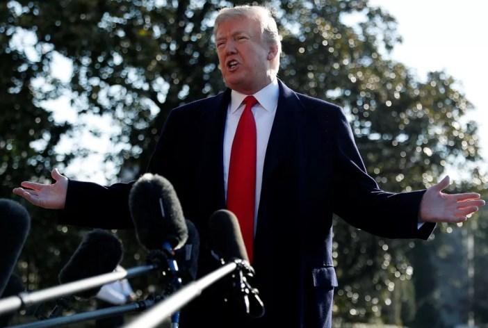 Presidente dos EUA, Donald Trump, (Foto: Leah Millis/Reuters)