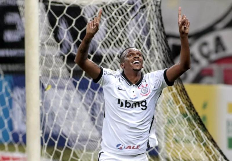 Jô marcou seis gols desde que voltou ao Corinthians em 2020 — Foto: Rodrigo Coca/Ag.Corinthians