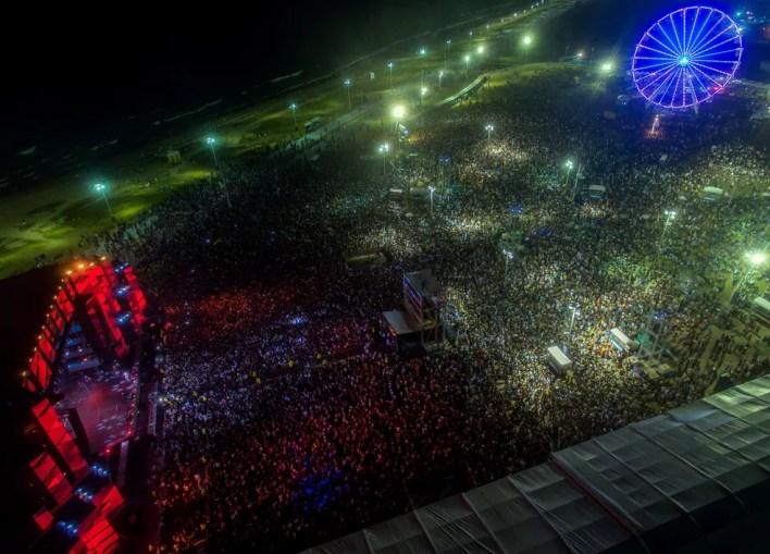 Festa acontece entre 28 de dezembro e 1º de janeiro, na orla da Boca do Rio. — Foto: Divulgação