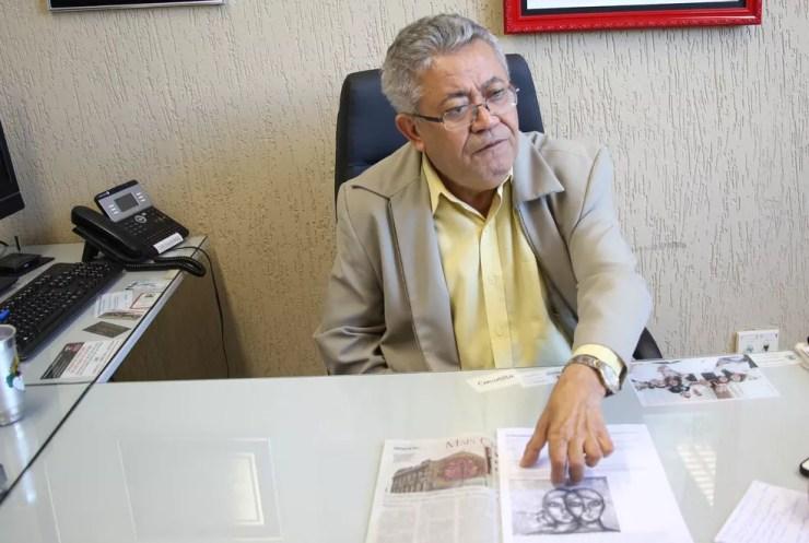 Vereador Luis Santos afirma que desenho é de 'extremo mau gosto' (Foto: Câmara de Sorocaba/Divulgação)