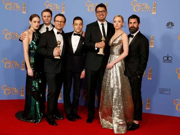 'Mr. Robot' ganha o Globo de Ouro de melhor série de drama (Foto: REUTERS/Lucy Nicholson)