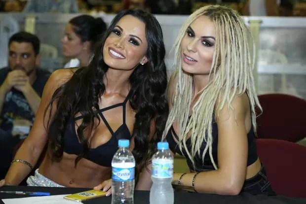 Fernanda d'avila e Fernanda Lacerda são juradas no Arnold (Foto: ROBERTO FILHO / BRAZIL NEWS)