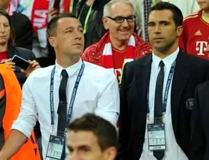 Terry e Raul Meireles Chelsea Bayern (Foto: EFE)