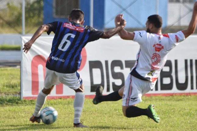 Confronto foi equilibrado na temporada passada — Foto: José Eduardo/YC