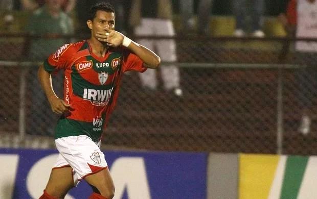 Ricardo Jesus, da Portuguesa (Foto: Marcos Bezerra / AE)