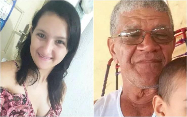 Rairleny Ganum da Silva e Arnaldo Reis Praxedes, 63 anos, desaparecem em junho de 2016 — Foto: Arquivo Pessoal