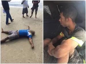 Um dos suspeitos foi morto e o outro baleado (Foto: Marcial Lima)