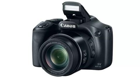 Canon PowerShot SX520 HS tem resolução de 16 MP para fotos e vídeos em Full HD (Foto: Divulgação/Canon)