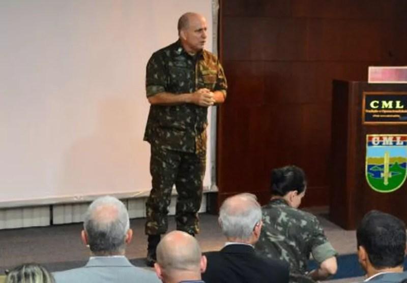 General de brigada Paulo Roberto assume o posto (Foto: Cb Francilaine (CML)/Divulgação)