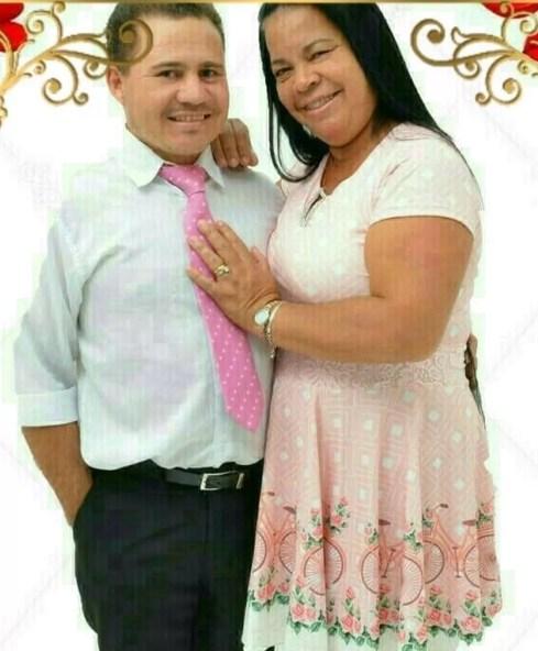 Suspeitos são a sogra da vítima, Marta Moraes Alves, de 50 anos, e o marido, Daniel Cirilo, sogro de Thais — Foto: Facebook/Reprodução