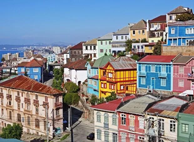 Valparaíso, Chile (Foto: Reprodução / House Beautiful)