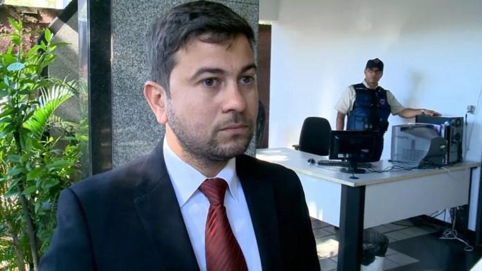 Advogado Paulo Cesar Amâncio (Foto: Samy Ferreira/ TV Gazeta)