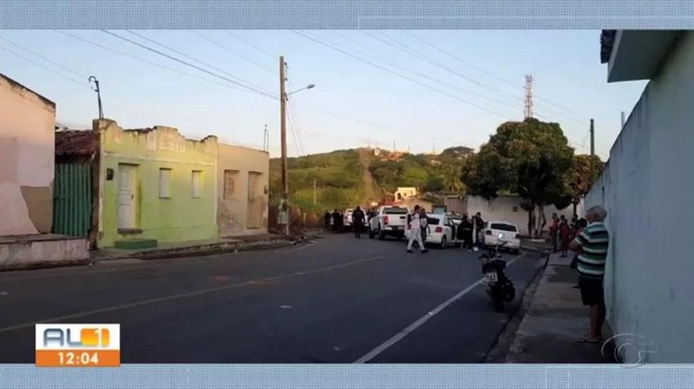 Operação inibe ação de bandidos em Girau do Ponciano — Foto: Reprodução/TV Gazeta