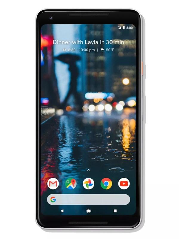 Pixel 2 XL tem tela de 6 polegadas, com display mais amplo e parecido com o do iPhone X e Samsung Galaxy S8 (Foto: Divulgação)