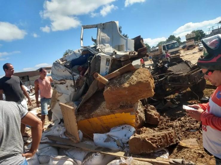 Acidente em Seabra, na Chapada Diamantina — Foto: Nilson Santos/Blog Liberdade Bom Sucesso