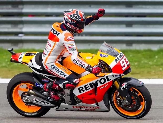 marc marquez vence gp da holanda de motogp (Foto: Reuters)