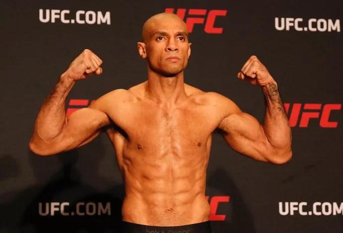 Roan Jucão Tomada de peso UFC 208 (Foto: Evelyn Rodrigues)