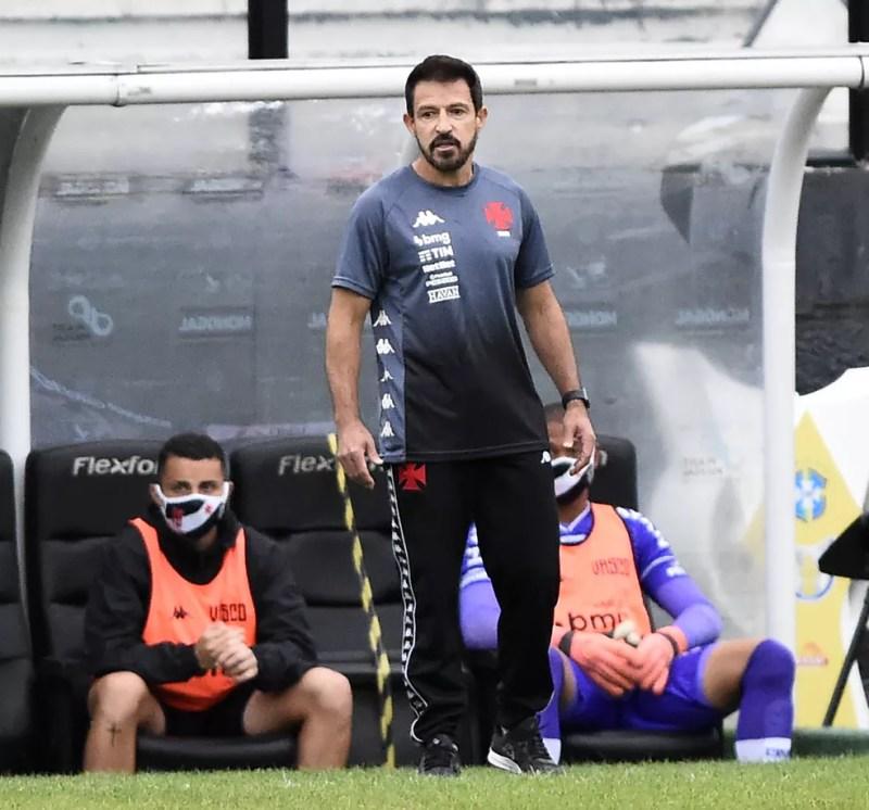 Vasco x São Paulo, Brasileiro 2020 - Ramon, técnico do Vasco — Foto: André Durão