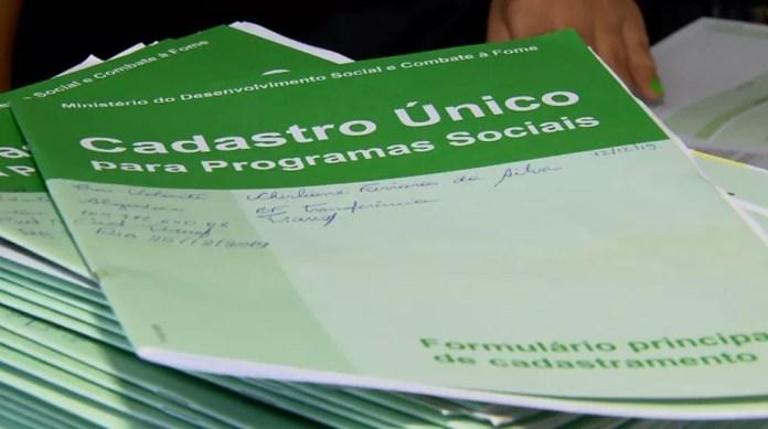 Governo Federal não tem previsão para retomada de sorteios do Bolsa Família — Foto: Reprodução/EPTV