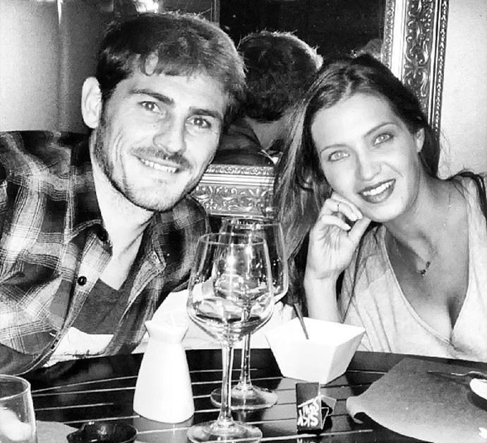 Casillas e Sara Carbonero (Foto: Reprodução/Instagram)