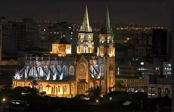 Igreja onde a ex-BBB Munik vai casar (Foto: catedralmetropolitana/divulgação)