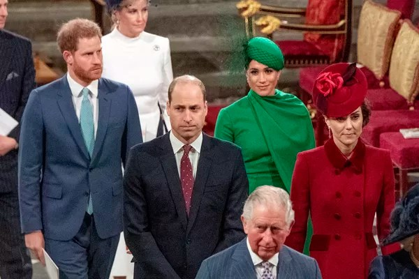 Prince Harry, Meghan Markle, Prince William, Kate Middleton, Prince Charles (Photo: Getty Images)