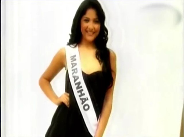 Thaís Portela é a Miss Maranhão de 2009 e é suspeita de ser laranja do PSL nas eleições 2018 no Maranhão — Foto: Reprodução/TV Mirante
