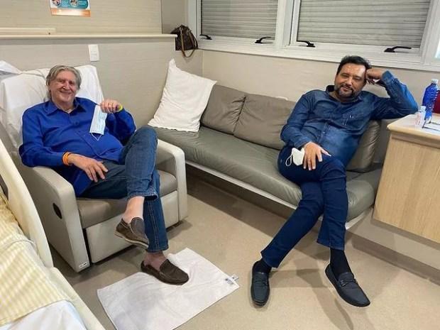 Sérgio Reis e Geraldo Luis (Foto: Reprodução/Instagram)