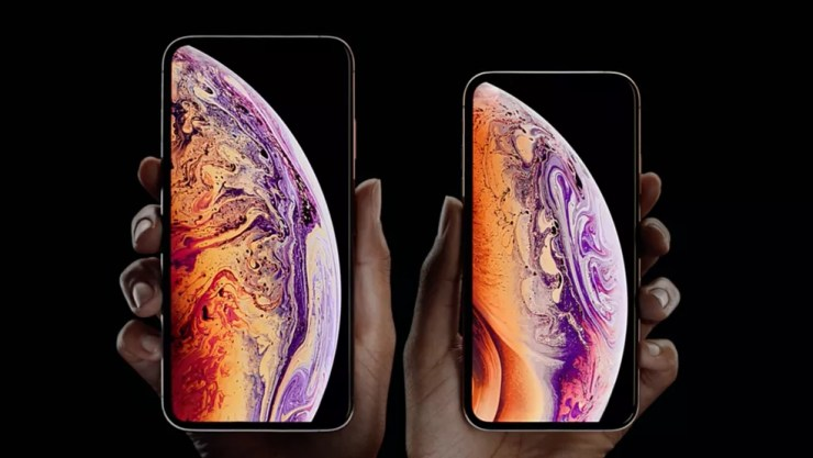 iPhone XS Max e iPhone XS — Foto: Reprodução/Apple