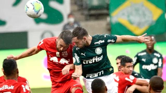 Lance de Palmeiras x Bragantino