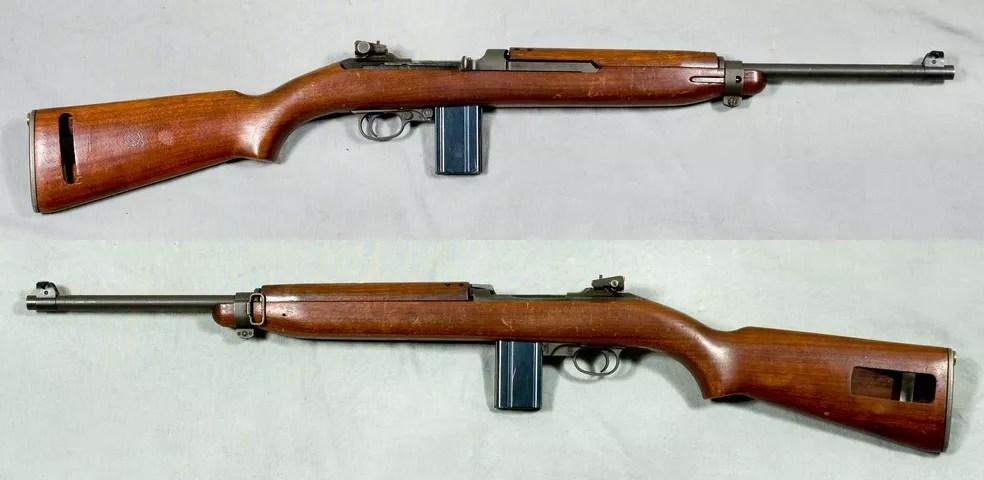 Carabina Winchester M1 .30, modelo similar ao da coleção de candidato — Foto: Reprodução