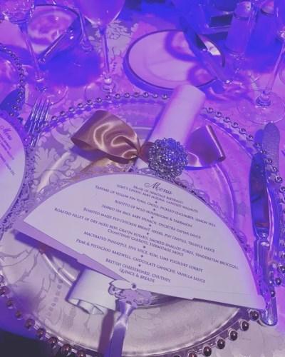 Menu do casamento milionário (Foto: Reprodução/Instagram)