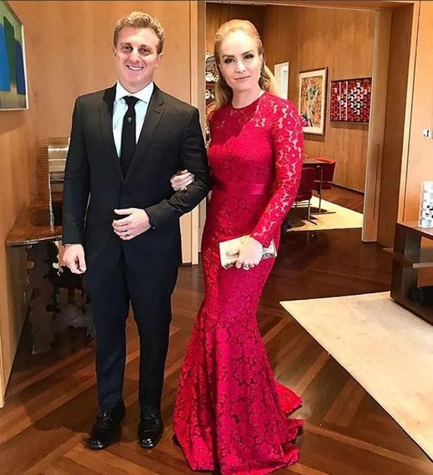 Luciano Huck e Angélica  (Foto: Reprodução)