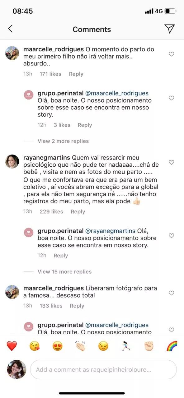 Hospital se pronuncia após críticas à fotos de Giovanna Ewbank e Bruno Gagliasso na maternidade (Foto: Reprodução/Instagram)