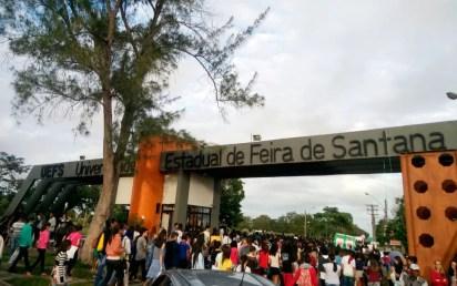 Campus da Universidade Estadual de Feira de Santana (Uefs), a cerca de 100 quilômetros de Salvador (Foto: Divulgação/Uefs)