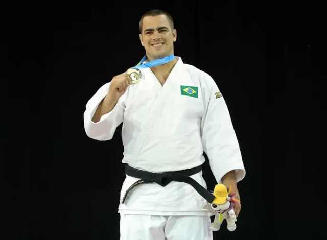 David Moura judô Pan-Americano (Foto: Matt Detrich/Reuters)
