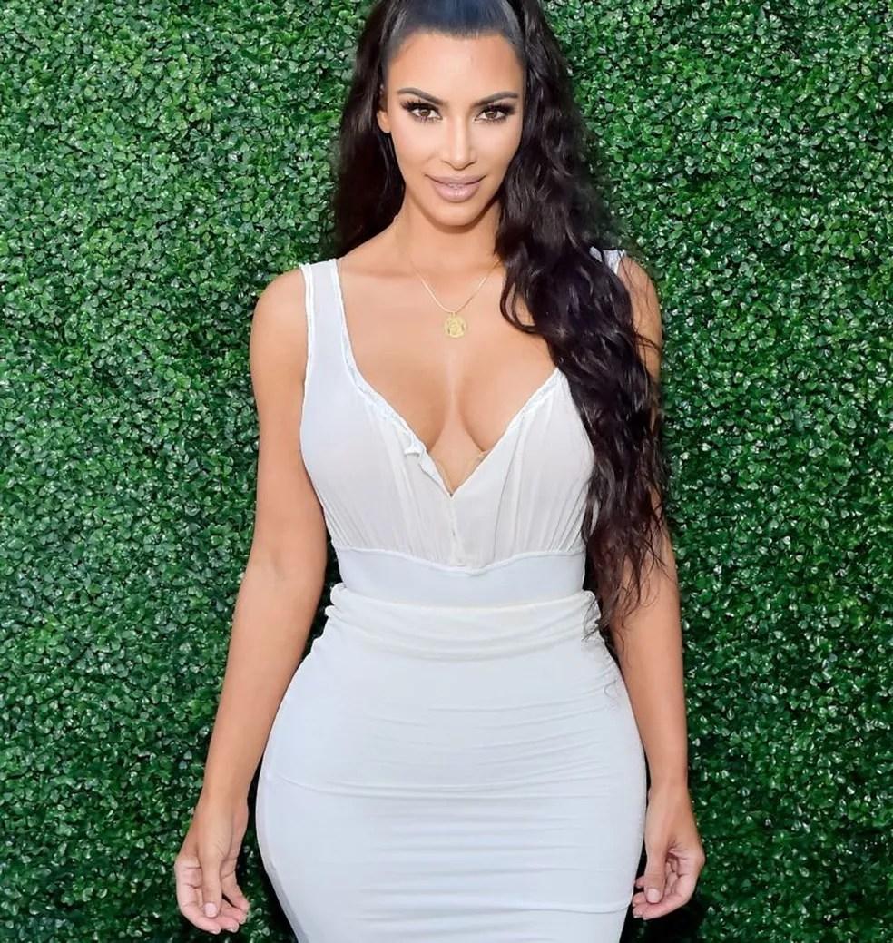 Imagem sem data de Kim Kardashian — Foto: Getty Images/Via BBC