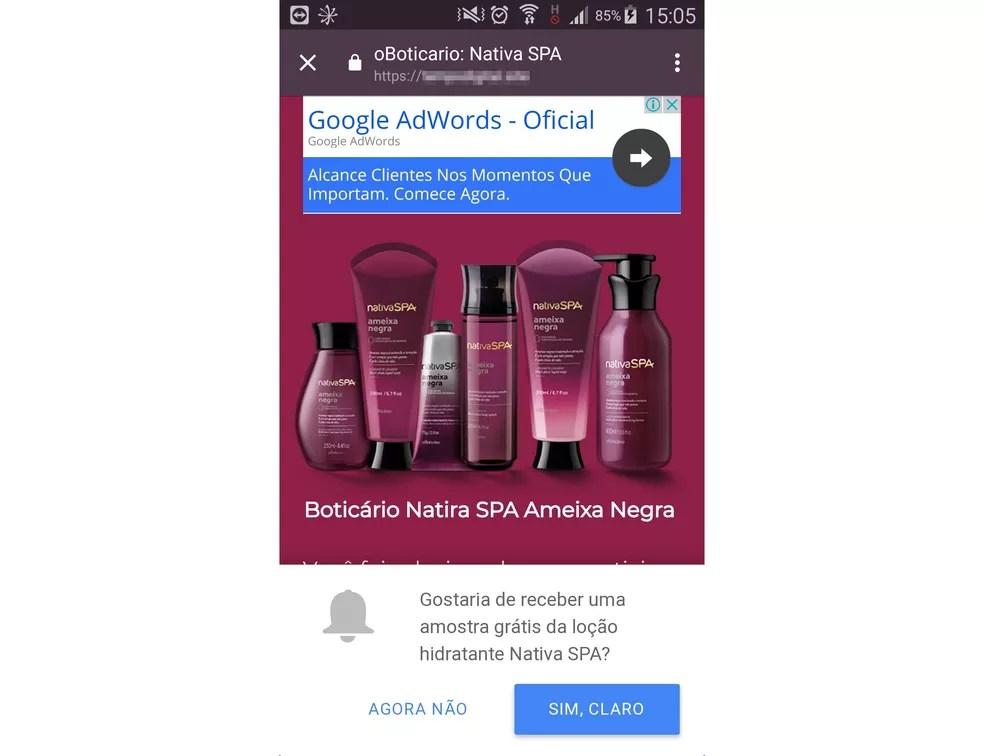 boticario-02 Golpe no WhatsApp usa promoção de O Boticário como isca, alerta PSafe