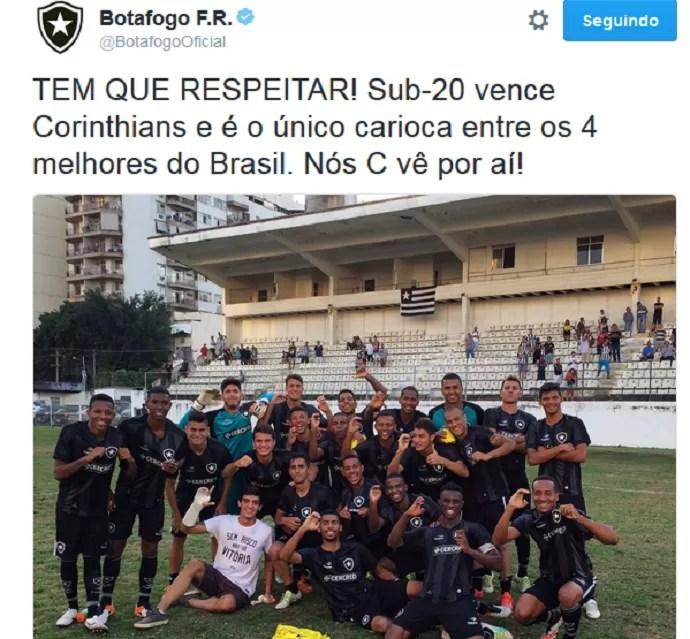 Botafogo provoca Fluminense